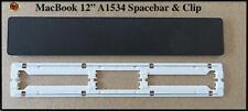 """ Macbook keys Retina 12""""  Models A1534  Spacebar Key & Clip  """