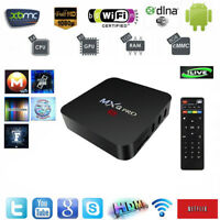 MXQ PRO 4K TV Box ANDROID 7.1.2 Media Player QUAD CORE 8GO S905W 2GHz - Exp 24h