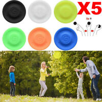 5X Mini Pocket Flexible New Spin Catching Game Flying Disc Garden Beach*Outdoor.