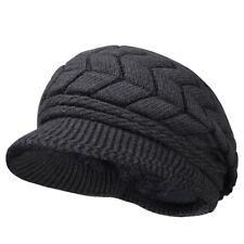 Womens Lady Girl Winter Warm Knitted Crochet Slouch Baggy Beanie Hat Beret Cap