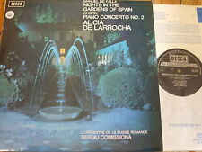 SXL 6528 De Falla Nights in the Gardens of Spain etc. / de Larrocha