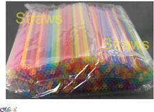 1000 pcs Drink Straw MIX color 20 x 0.5 cm Party Tea restaurant