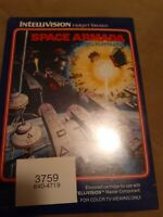 Space Armada for Mattel Intellivision NEW/SEALED ▪︎ FREE SHIPPING ▪︎
