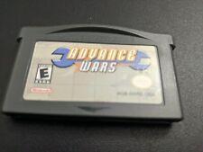 Advance Wars 1 Nintendo Game Boy Advance NRMT authentic game cartridge