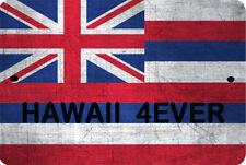 HAWAII flag Sign 8 x 12 Patriot Emblem 4EVER Version