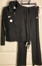 GK Elite Warm Up Set CHILD LARGE Jacket/Pants Black Cotton Sz YOUTH 14 NWT!