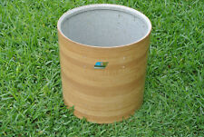 "1970's Ludwig 16"" BUTCHER BLOCK FLOOR TOM SHELL for YOUR DRUM SET! LOT #B834"