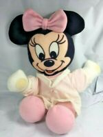 Vintage 1984 Rare Mattel Disney baby Minnie Mouse Plush Stuffed Animal EUC FS