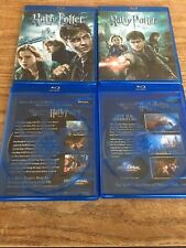 Harry Potter and the Deathly Hallows, Part 1 & Part 2 Fantastic Beasts 1 & 2 Blu