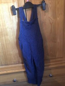 Mini Boden Navy Blue Dungarees Age 3-4 Years