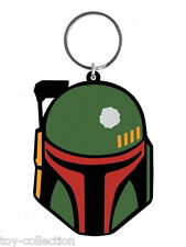Boba Fett - Star Wars - Gummi Schlüsselanhänger / rubber keychain