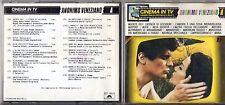 CINEMA IN TV CD 1992 JOHN BARRY OLIVER ONIONS GIORGIO MORODER PAUL MAURIAT