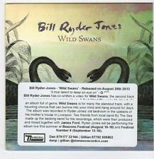 (EO88) Bill Ryder Jones, Wild Swans - 2013 DJ CD