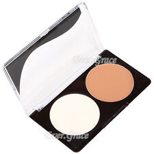 Makeup 2 Colors Bronzing Powder Bronzer Concealer Face Foundation Matte Cosmetic