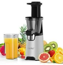 Nxone Slow Masticating Juicer Extractor Cold Press Juicer w/ Brush & Recipes New