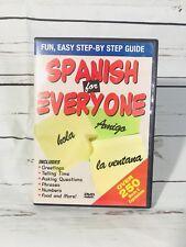 Spanish for Everyone (DVD, 2006) Speaking & Understanding Spanish Education