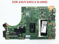 FOR Asus S451LA Mainboard I5-4200U 4GB  DDR3L Motherboard 60-NB02U0-MB5010-202