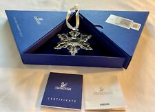 More details for swarovski limited edition large christmas star / snowflake 2010