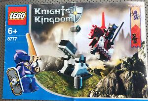 LEGO #8777 Castle Knights Kingdom Instruction Booklet