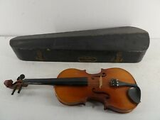 More details for vintage mv005 skylark brand full size violin w/case no bow string instrument e6