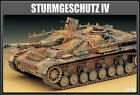 Academy 1/35 German Assault Gun Tank 75mm Stuk Plastic Model Kit 13235 NIB