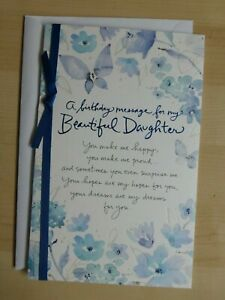 American greetings card- Happy Birthday for a beautiful Daughter
