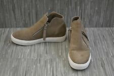 Steve Madden Caliber Wedge Sneaker - Women's Size 7.5M - Taupe Suede