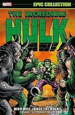 Incredible Hulk Epic Collection: Who Will Judge The Hulk?, Roy Thomas,  Paperba