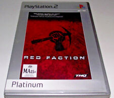 Red Fraction PS2 (Platinum) PAL *No Manual*