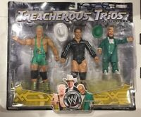 2008 WWF WWE Treacherous Trips HORNSWOGGLE + JBL + FINLAY 3-Figure SET Series 3