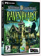 Mystery Case Files: RavenHearst (PC CD) PC 100% Brand New