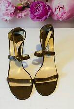 Authentic Jimmy Choo Brown Nude Sandal Shoe Women's Ladies EU 41/ UK 7.5 - 8