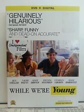 WHILE WE'RE YOUNG (2013, DVD) Includes Digital Copy (New But Watched Once)