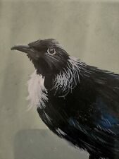 Oil Painting Of Bird Signed