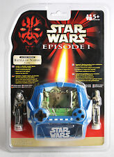 Rare 1999 Star Wars Episode I Battle Of Naboo Handheld Lcd Game Tiger New !