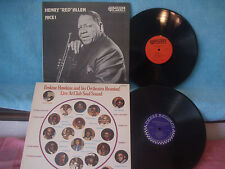 """2 records 1 price, Erskine Hawkins & His Orchestra / Henry """"Red"""" Allen, Nice!"""