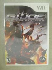 FACTORY SEALED G.I. JOE RISE OF COBRA NINTENDO WII VIDEO GAME 2007 EA HASBRO