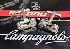 Campagnolo Record C9 Vélo Chaîne Boutons de manchette