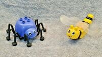 Lego Duplo Rare Vintage Butterfly & Spider From Set 9129