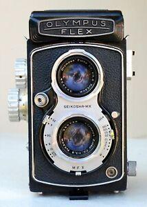 1950s Olympus Flex TLR 120 Film Camera