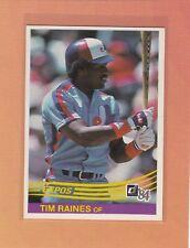 1984 DONRUSS BASEBALL #299 TIM RAINES EXPOS NRMT *63015