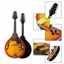 More details for 8-string acoustic electric mandolin double-duty mandolin w/gig bag for beginner