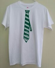Stetson Hatters Basketball White T-Shirt, Size Small *RARE* SU Necktie Coca-Cola