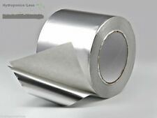 Idroponica MYLAR Fogli Alluminio NASTRO RIFLETTENTE CALORE prova Autoadesivo crescere locale