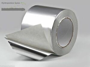Hydroponics Mylar Sheet Alu Tape Reflective Heat Proof Self Adhesive Grow Room