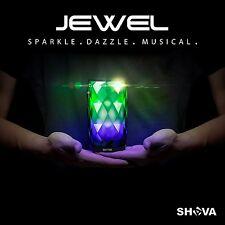 JEWEL Night Light Wireless Bluetooth Speaker up to 7 hours play SHAVA 6 LED GLOW