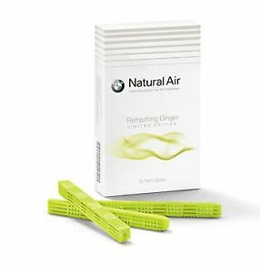 Genuine BMW Natural Air refill kit, Refreshing Ginger - 83122466399 Limited Edit