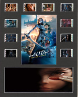 Alita Battle Angel replica Film Cell Presentation 10x8 Mounted 10 cells