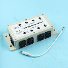 Output DMX DMX512 8 Channel LED Controller Signal Amplifier Splitter Distributor