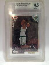 1998-99 Tops Chrome Paul Pierce Boston Celtics  #135 Beckett Rated 8.5 NM